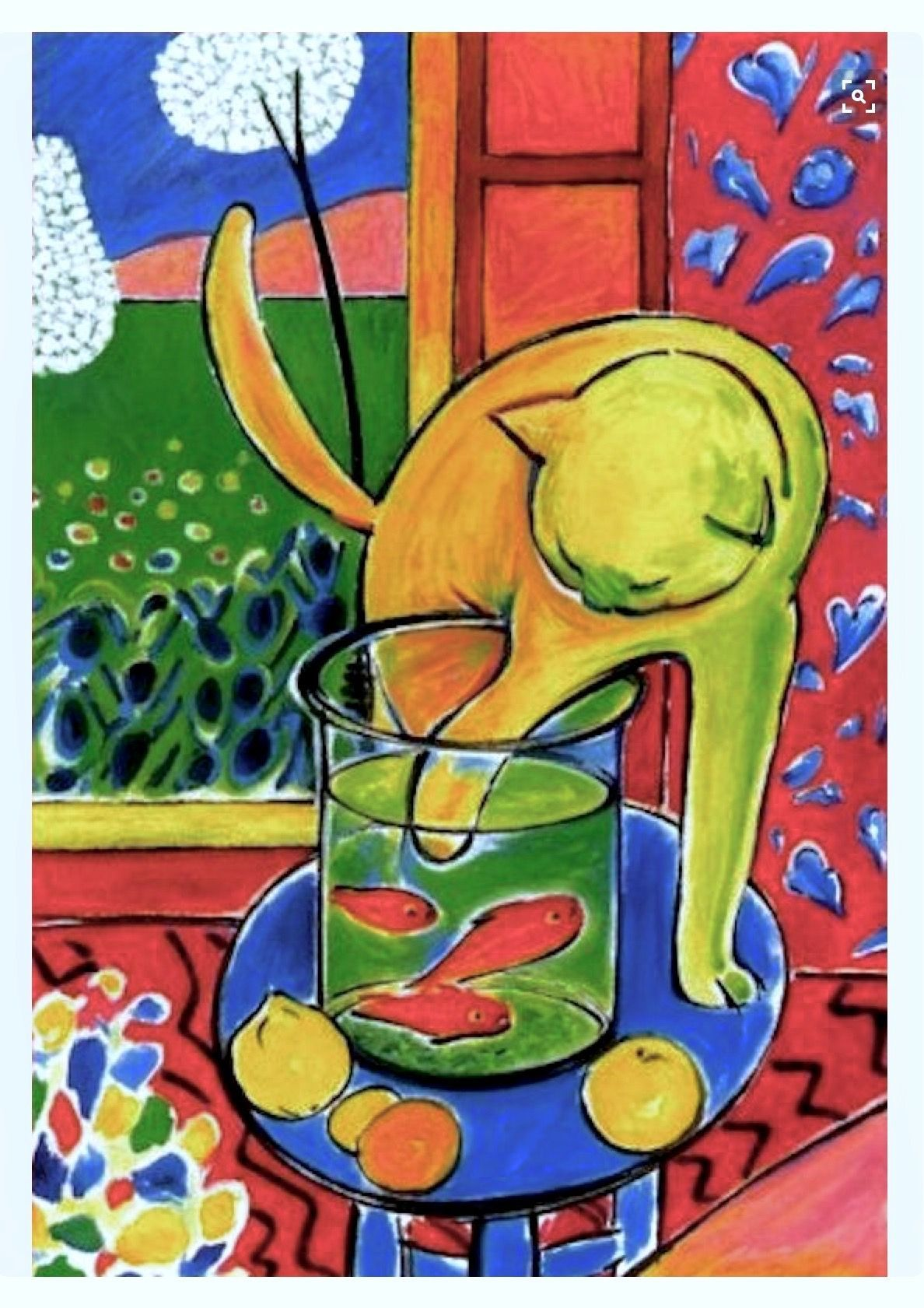 Matisse Red Cat